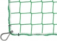 Bauschutznetz per m² (nach Maß) mit Kauschenbügel | Schutznetze24