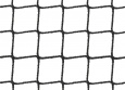 Volierennetz per m² (nach Maß), schwarz | Schutznetze24