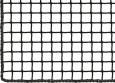 Netz nach Maß (per m²) 3,0/30 mm, schwarz   Schutznetze24