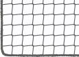 Palettenregal-Sicherheitsnetz nach Maß (45 mm Maschenweite) | Schutznetze24