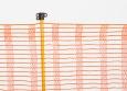 Skipisten-Begrenzungszaun 50 m, orange | Schutznetze24