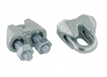 Stahlseilklemmen 3 mm (50 Stück)