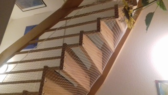 Cat Safety Net by the m² (Custom-Made) | Safetynet365