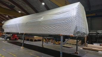 Schutznetz per m² (nach Maß) 4,0/130 mm, weiß | Schutznetze24