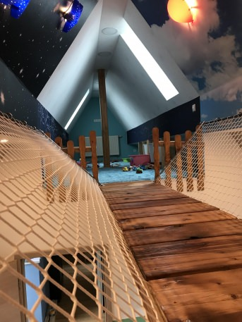Play Area Safety Net by the m² (Custom-Made) | Safetynet365