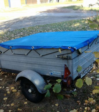 Custom-Made Trailer Cover Sheeting (by the m²) | Safetynet365