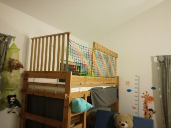 Loft Bed Net by the m² (Made to Measure) | Safetynet365
