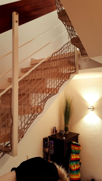 Safety Net for stairs/staircases by the m² | Safetynet365