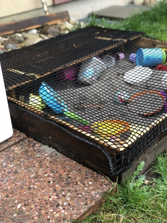 Sandbox Cover Net by the m² (Custom-Made) | Safetynet365