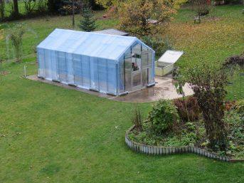 Container-Abdecknetz 3,5x6m, blau oder grün | Schutznetze24