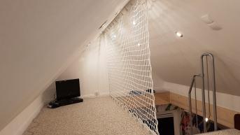 Netz nach Maß zur Sicherung von Galerie und Hochebene | Schutznetze24