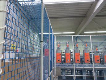 Palettenregal-Sicherungsnetz 8,40 x 3,00 m | Schutznetze24