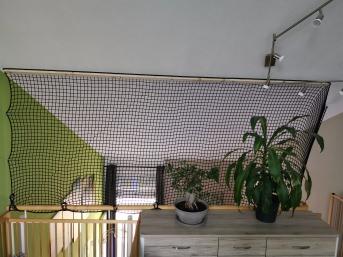 Netz nach Maß (per m²) 3,0/30 mm, schwarz | Schutznetze24