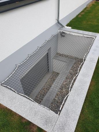 Teichabdecknetz (Personenschutz) per m² | Schutznetze24