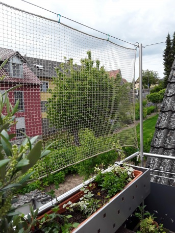 Schutznetz nach Maß (per m²) 1,0/20 mm | Schutznetze24