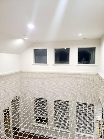 Personenauffangnetz per m² (nach Maß), DIN EN 1263 | Schutznetze24