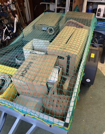 Anhängernetz mit Gummileine in verschiedenen Größen | Schutznetze24