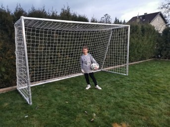 Maßgertigtes Tornetz für Fußball | Schutznetze24