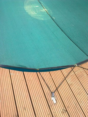 Pond tarpaulin by the m² (Made to Measure) | Safetynet365