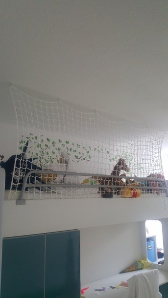 Loft Safety Net by the m² (Custom-Made) | Safetynet365