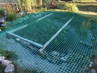 Pond Net (Fall Safety Net) by the m² | Safetynet365