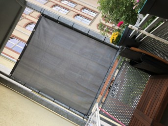 Opaque Screen Netting by the m² (Custom-Made) | Safetynet365