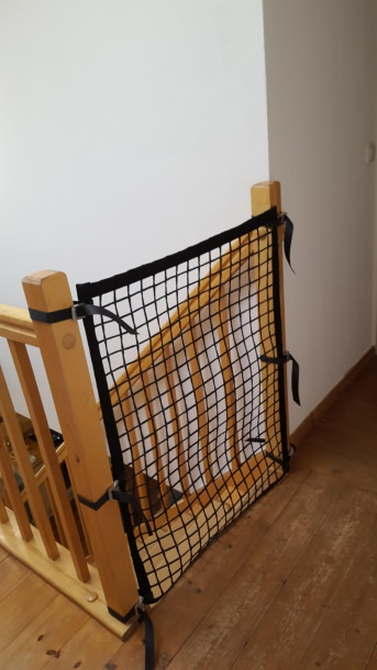 Staircase Barrier Net - Available by the Meter | Safetynet365