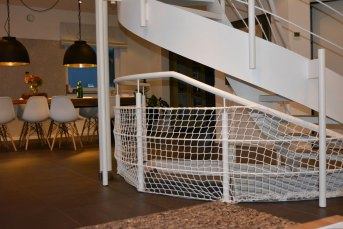 Stairway Safety Net by the m² | Safetynet365