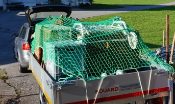 Trailer Netting Cover with DEKRA Certificate - 2.00 x 3.00 m | Safetynet365